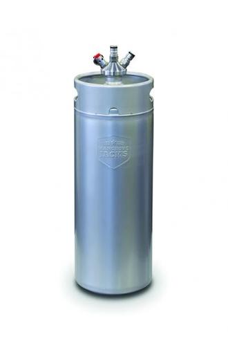 10 Litre Mini Keg with Ball Lock Cap