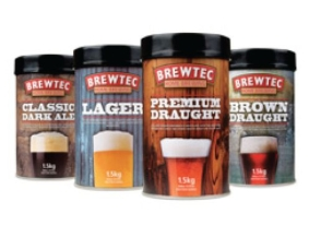 Brewtec Brown Draught Beerkit 1.5kg