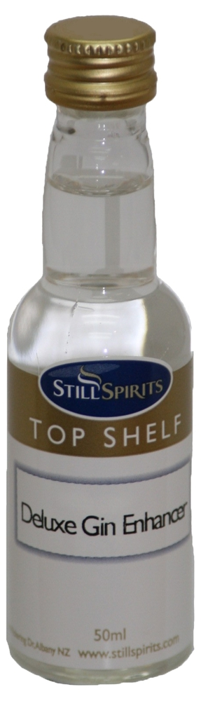 Top Shelf Gin Profile - Deluxe Gin Enhancer