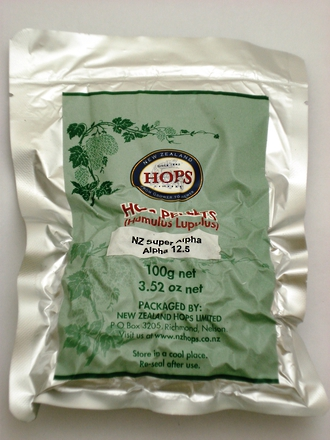 Hop Pellets Dr Rudi 100g (Super Alpha)