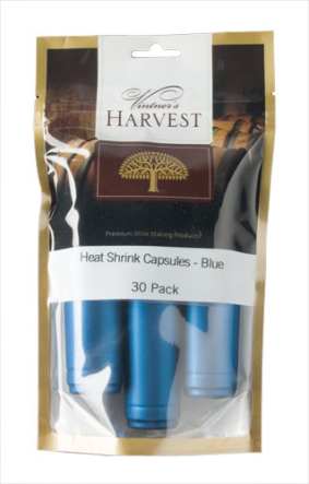 Vintner's Harvest Heat Shrink Capsules - Blue x30