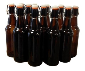 Mangrove Jack's 500ml Flip Top Bottles- case 12
