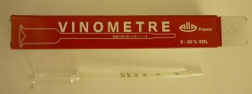 Brewcraft Vinometer 0 to 25% with instructions