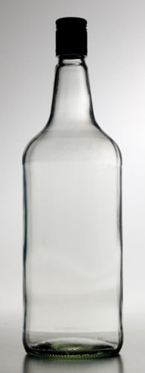 Glass Spirit Bottles, 1125ml x 12