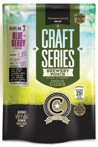 "Mangrove Jacks Craft Series ""Blueberry Cider"" 2.4kg"