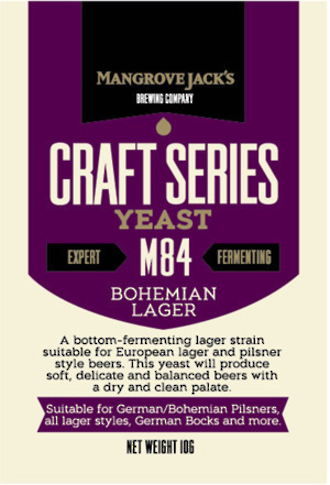 "Mangrove Jack's ""Bohemian Lager M84"" Yeast"