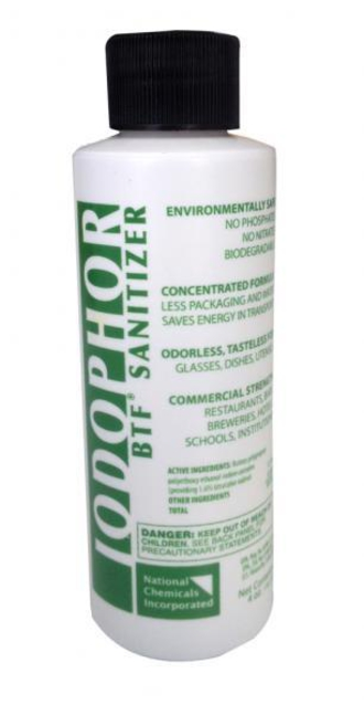 Idophor Brewing Sanitiser 118ml