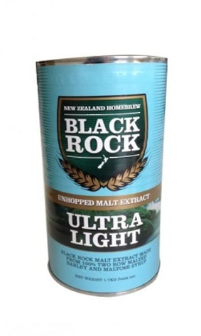"Black Rock ""Ultra Light Unhopped Malt"" 1.7kg"