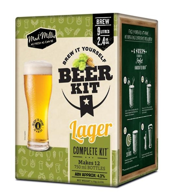 "Mad Millie ""Brew It Yourself Beer Kit"" - Lager"