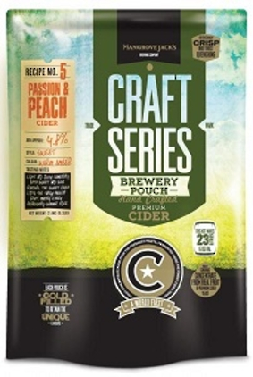 "Mangrove Jack's Craft Series ""Peach & Passion Cider"" 2.4kg"
