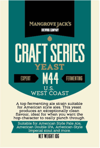 "Mangrove Jack's ""U.S. West Coast M44"" Yeast"
