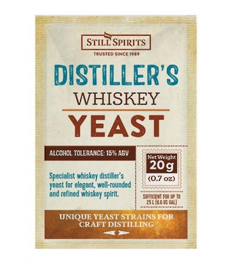 Distillers Yeast Whiskey