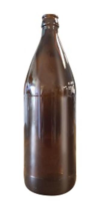 Mangrove Jack's 750ml Amber Bottles x 12 (Crown Seal Caps)