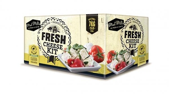 Mad Millie Fresh Cheeses Complete Ingredient Kit