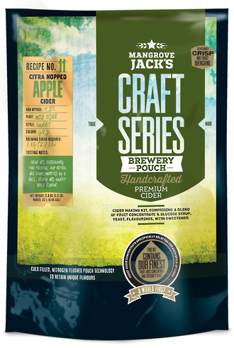 Mangrove Jack's Craft Series Dry Hopped Apple Cider