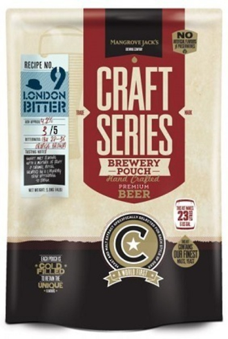 "Mangrove Jack's ""Craft Series London Bitter Pouch"" 2.2kg"