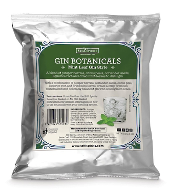 Still Spirits Mint Leaf Gin Botanicals