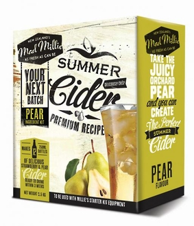 "Mad Millie ""Pear Cider ingredients Kit"""