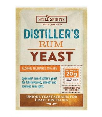 Distillers Yeast Rum
