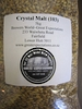 Whole Malt Grain Crystal 1kg