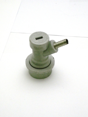 Gas Disconnect, Plastic Ball Lock Grey