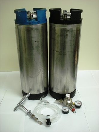 Keg Set with Tap & Instructions