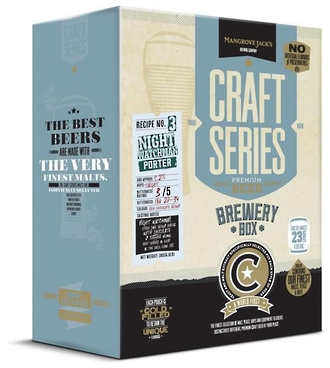 "Craft Series Brewery Box ""Night Watchman Porter"""